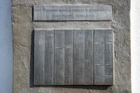 Стела «Никто не забыт, ничто не забыто». Списки погибших. Село Старое Чурилино. 2014