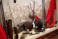 Фрагмент экспозиции, посвященный поисковой работе. 2014