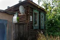 Чистополь, ул. Бебеля, 87.  Одноэтажное деревянное здание, начало ХХ в.