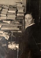 Фото. Степанова А.О., жена А. Фадеева, актриса МХАТа. Чистополь. 1942