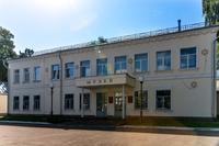 Фасад здания и вход в Музей историко-культурного наследия. 2014