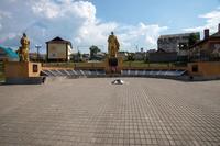 Парк Победы. Мемориальный комплекс. пгт Балтаси. 2014