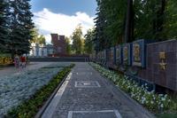 Аллея Героев в Парке Победы.  г. Зеленодольск. 2014
