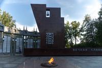 Колокол на монументе Славы в Парке Победы. 2014