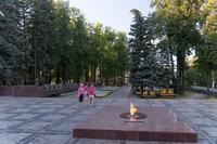 Вечный огонь в Парке Победы г. Зеленодольск. 2014