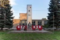 Мемориальный комплекс  погибшим землякам с.Айша Зеленодольский район. 2014