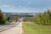 Панорама г. Буинска.  2014