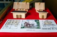 Макеты зданий линейно путевых пунктов