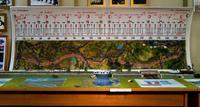 Схема и макет участка железной дороги Свияжск-Ульяновск