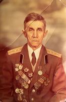 Фото. Бабужин А.Ю.- участник Великой Отечественной войны. 1990-е
