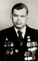 Фото. Хасанов И.Б.- участник Великой Отечественной войны. 1970-е