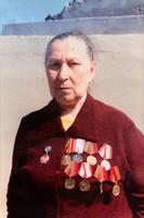 Фото.Козлова- Илюшина В.Н.- участница Великой Отечественной войны.1995