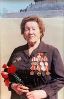 Фото. Журавлева Г.П.- участница Великой Отечественной войны.1990-е