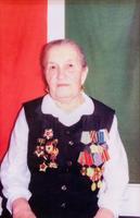 Фото. Рахматуллина А.- участница Великой Отечественной войны. 1990-е