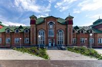 Здание Буинского железнодорожного вокзала. 2014