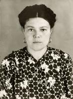 Фото. Хайруллина Б А.-труженик тыла. 1940-е