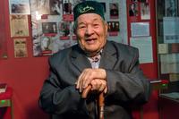 Фото.Галиуллин Х.К. - ветеран Великой Отечественной войны. 2014