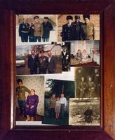 Рамка с фото Ерунова А.Н. в разные годы