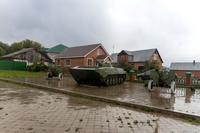 Военная техника в Парке Победы в п.г.т.Камское Устье. 2014