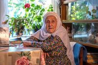 Фото. Галимуллина Т.Г. д. Нижняя Кня. Балтасинский муниципальный район. 2014