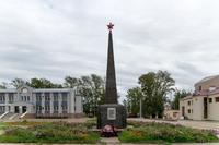 Обелиск «Воинам павшим при исполнении воинского долга», г. Болгар, 2014 г.