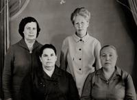 Фото. Боевые подруги, прошедшие путь от Воронежа до Венгрии. 1971
