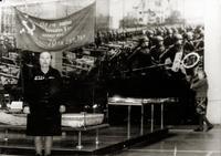 Фото. Встреча ветеранов 10-й танковой дивизии, в которой служила Андронова Е.М. 1982