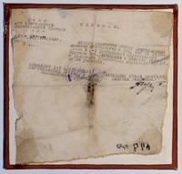Справка, выданная майору Христофорову М.С. о службе в партизанской бригаде. 24 августа 1943 года