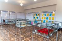 Фрагмент экспозиции музея с материалами по Великой Отечественной войне в музее при Мамадышском профессиональном колледже №87. 20