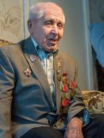 Фото. Ветеран Великой Отечественной войны Набиуллин Г.Ш. 2014