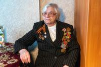 Фото. Участница Великой Отечественной войны Яковлева Т.И. 2014