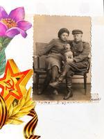 Фото. Участник Великой Отечественной войны Яковлев А.Я. 1940-е