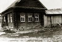 Фото. Дом, где родилась А.А. Шишмагаева в Елабужском районе в селе Костенеевка. 1960-е-1970-е