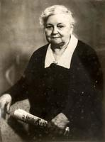 Фото. Главан З.Т.  - мать молодогвардейца Бориса Главан. 1970-е