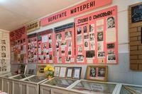 Фрагмент экспозиции военно-патриотического музея «Молодая гвардия» в деревне Таканыш Мамадышского района РТ. 2014