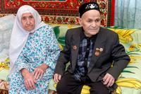 Фото. Галиуллины Р.Х. и А.М. - участники Великой Отечественной войны. 2014