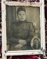 Фото. Фахрутдинов Х.М. – участник Великой Отечественной войны. 1944