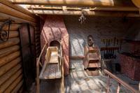 Фрагмент экспозиции под открытым небом Краеведческого музея Кукморского муниципального района. 2014