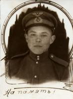 Фото. Файзрахманов Ш. – участник Великой Отечественной войны. 1945