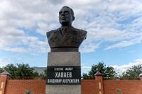 Памятник генерал-майору Хапаеву В.А. Тетюшский район. 2014