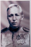 Фото. Хасанов Г.Х., участник Великой Отечественной войны. 1940-е