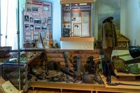 Фрагмент экспозиции, посвященный Великой Отечественной войне.