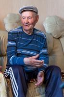 Фото. Мухаметгалиев М.М. - ветеран тыла. 2014