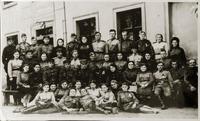 Берлин 1945 г., госпиталь. На фото Мачтакова А.И.