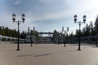 Мемориал Великой Отечественной Войны за Драмтеатром на улице Тимирязева на входе в парк 60-летия нефти Татарстана