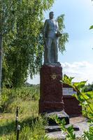 Памятник советскому солдату. Село Нижний Искубаш. 2014