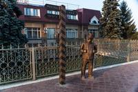 Памятник Швейку.. Бугульма