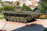 Образцы военной техники в Парке Победы. Кукмор. 2014