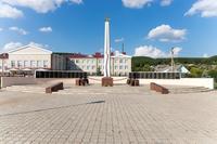 Мемориальный комплекс Великой Отечественной войны в Парке Победы. Кукмор. 2014