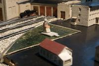 Фрагмент макета Эксплуатационного локомотивного депо станции Агрыз. 1980-е годы